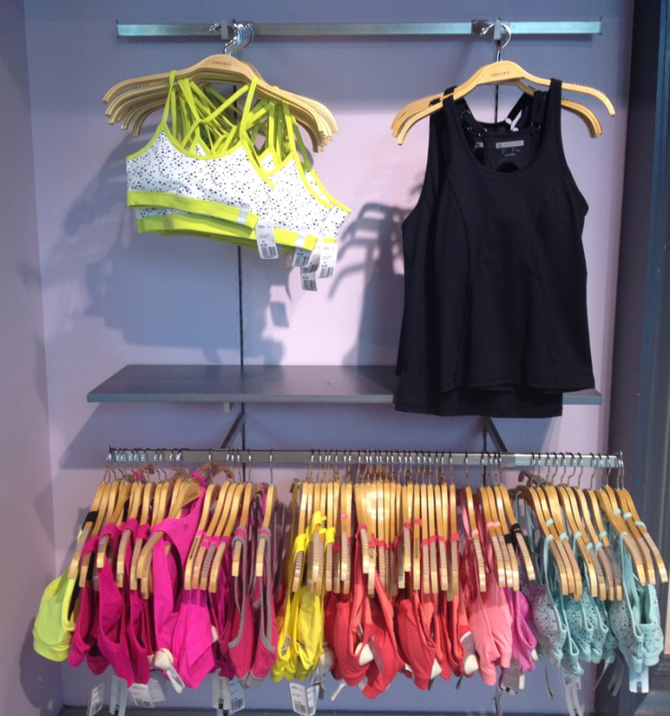 Forever 21 workout